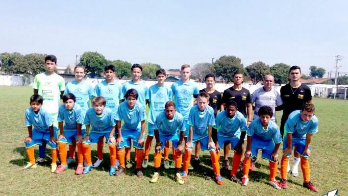 Equipe sub-15 se classificou para a 2ª fase em 1º lugar da chave.