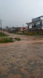 Pancadas de chuvas de terça-feira causaram prejuízos a moradores.
