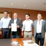 Governador Beto Richa assina convênio de empréstimo com a prefeitura da Lapa.