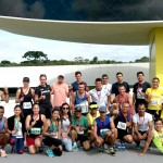 Equipe participou da competição com 25 atletas.